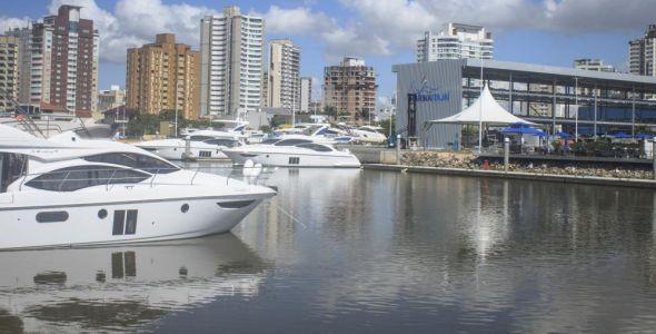 Azimut Yachts inaugura espaço para clientes e convidados na Marina de Itajaí