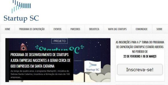 Sétima edição do Startup SC abre inscrições para capacitar empreendedores