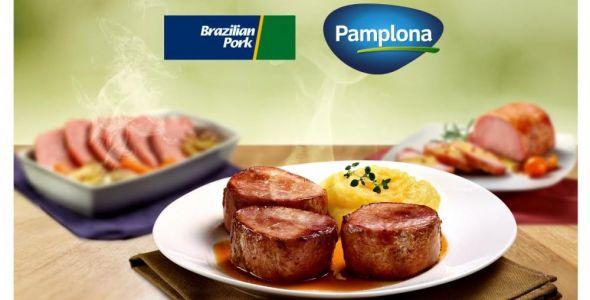 Pamplona alimentos recebe selo Brazilian Pork