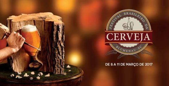 Festival Brasileiro da Cerveja começa hoje, em Blumenau