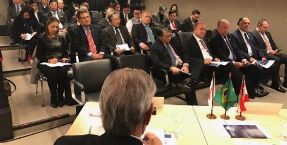 Governador do Estado participa de Seminário com empresários japoneses