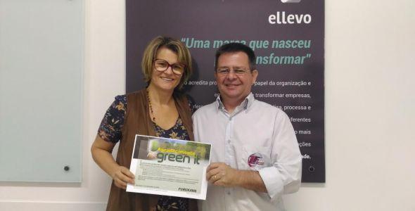 Empresa blumenauense recebe selo de sustentabilidade Green It