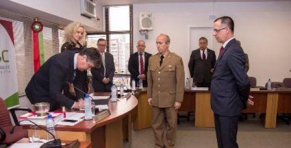 Ministério Público empossa novo Procurador de Justiça