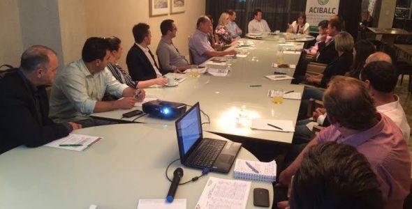 Presidentes das Associações Empresarias do Vale do Itajaí discutem duplicação da BR 470