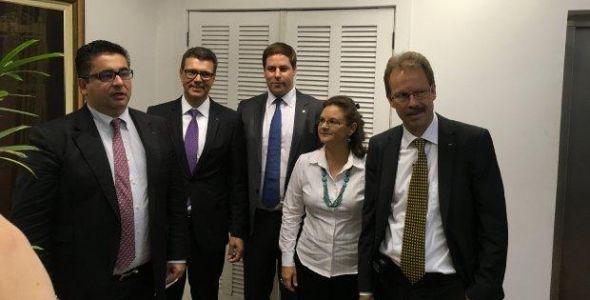 Zürich Airport apresenta planos de investimento ao governador Raimundo Colombo