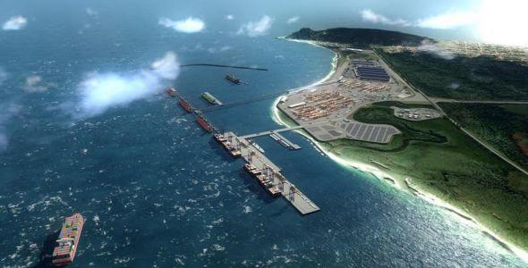 Porto Brasil Sul será instalado em São Francisco do Sul