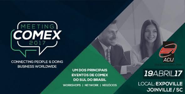 Meeting Comex 2017 acontece em Joinville no dia 19