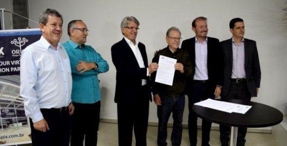 Orion Parque Tecnológico recebe internet e projeta rede de fibra ótica