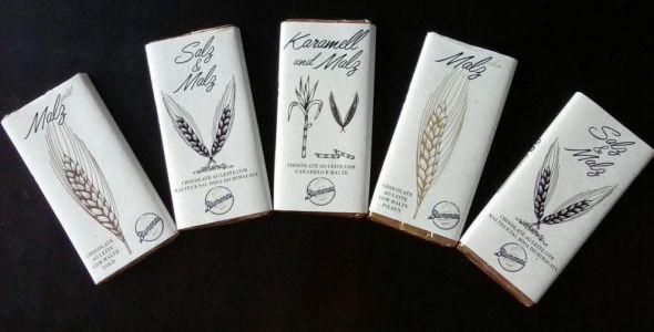 Cerveja Blumenau lança seis chocolates com malte e lúpulo na composição