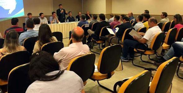 Federação das CDLs discute demandas da região metropolitana do Alto Vale do Itajaí