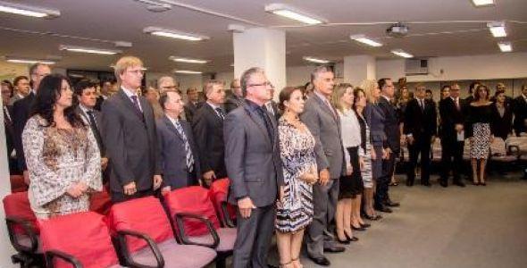 Dois novos Procuradores de Justiça são empossados no MPSC