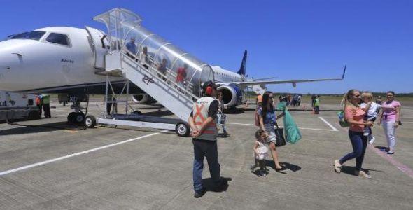 Aeroporto de Jaguaruna completa dois de operações e projeta crescimento