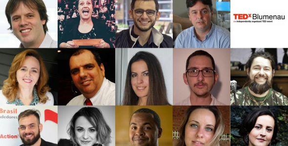 TEDxBlumenau acontece neste domingo (30) e terá transmissão online
