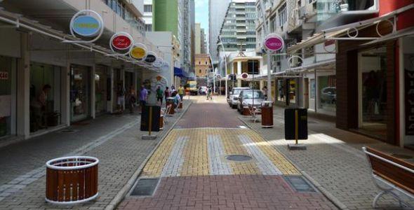 Paralisação impacta comércio de Florianópolis
