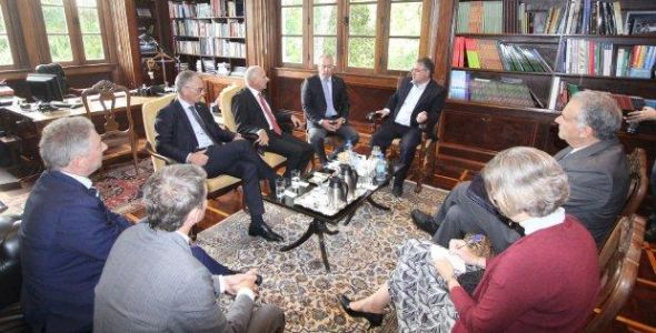 Governador recebe representantes da embaixada e do consulado suíço
