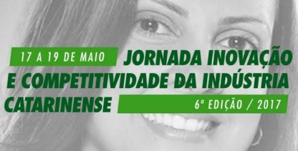 Fiesc realiza jornada inovação e competitividade de 17 a 19 de maio