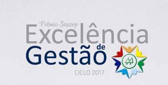 Onze cooperativas catarinenses participam do Prêmio Sescoop Excelência de Gestão