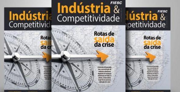 Fiesc lança 12ª edição da revista Indústira & Competitividade