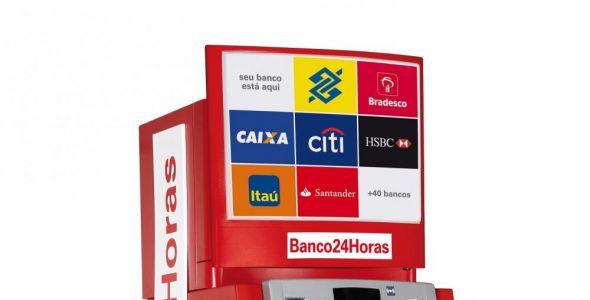Caixa eletrônico Banco24Horas começa a funcionar em Rio do Sul