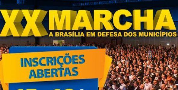 Catarinenses estão mobilizados para Marcha a Brasília em Defesa dos Municípios