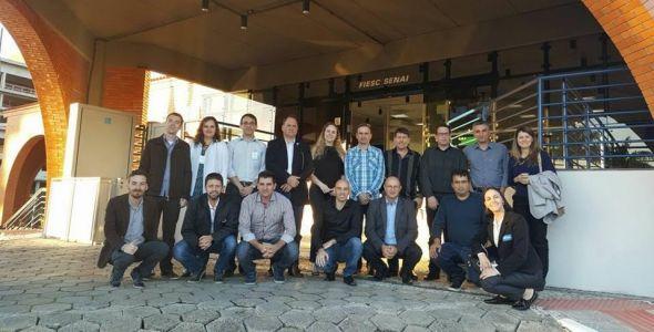 Empresários conhecem ecossistema de inovação de Florianópolis
