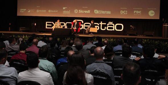 Expogestão termina com participação de cerca de 6 mil pessoas em Joinville