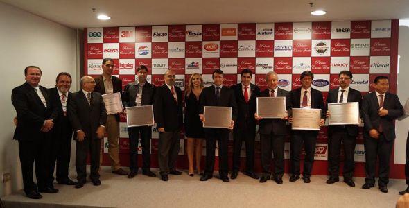 Presidente da Aurora é homenageado no Prêmio Carne Forte