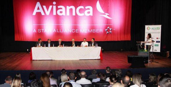 Reunião da ACII marca início da operação da Avianca Brasil