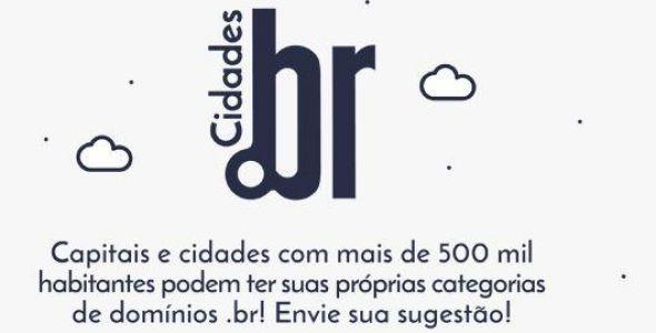 NIC.br recebe sugestões de nomes para novos domínios de cidades