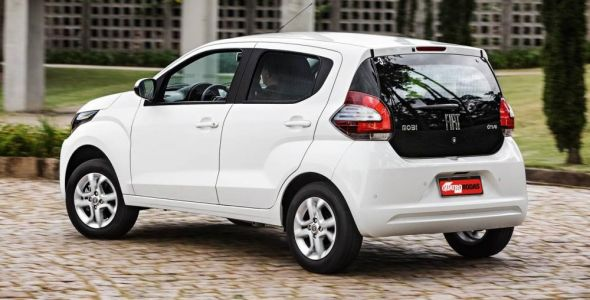 Fiat lança o Fiat Mobi Drive GSR: menos com menos é mais