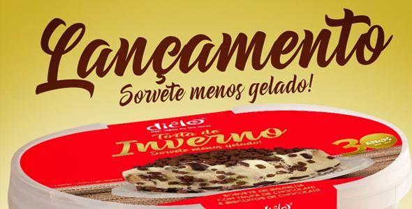 Dielo lança sorvete de inverno na próxima edição da EXPOSUPER 2017