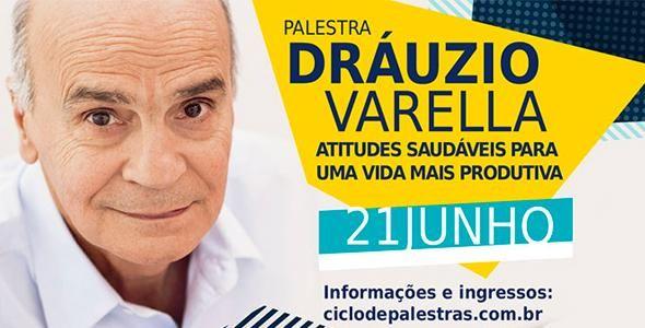 Dráuzio Varela profere palestra em Balneário Camboriú