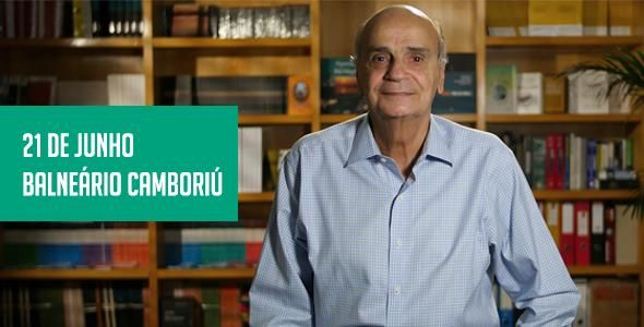 Balneário Camboriú recebe o médico Drauzio Varella para palestra