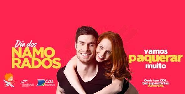 Vamos paquerar muito é tema da campanha para Dia dos Namorados