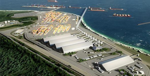 Terminais do Porto Brasil Sul seguirão normas de segurança de padrão mundial