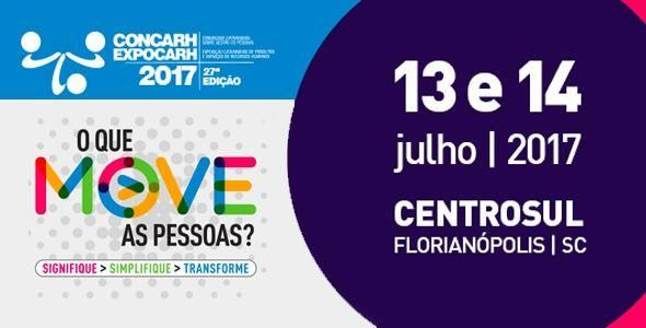 Congresso Catarinense Sobre Gestão de Pessoas inicia no dia 13 de julho