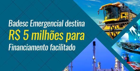 Badesc Emergencial socorre empresas atingidas por desastres naturais