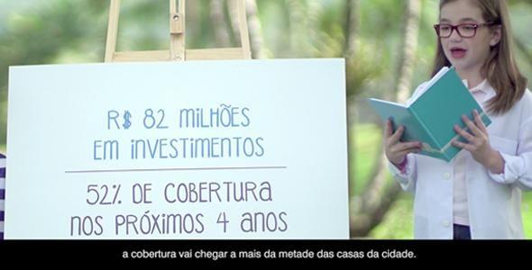 D/Araújo assina campanha sobre investimento em saneamento básico de Joinville
