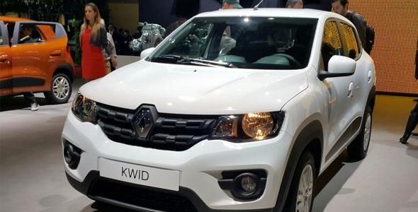 Em pré-venda, Renault Kwid tem preços entre R$ 29.990 e R$ 39.990