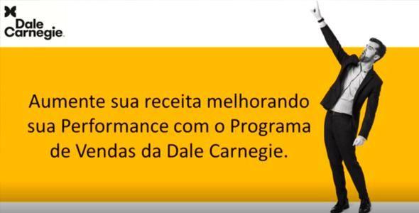 Treinamento de Vendas Dale Carnegie será em agosto