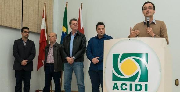 Prefeitura de Indaial lança programa Cidade Empreendedora