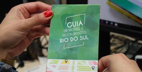 Rio do Sul terá Guia de hotéis e restaurantes