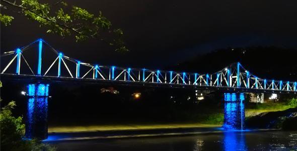 Blumenau recebe obras de ampliação e modernização na iluminação pública