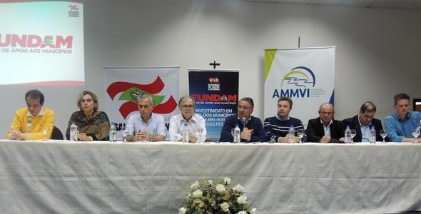 Governador anuncia recursos para municípios do Médio Vale