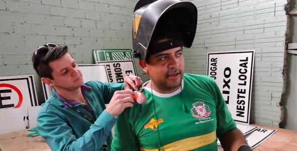 Técnicos do SESI avaliam condições de segurança do trabalho em São Miguel do Oeste