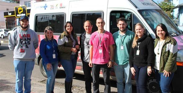 Colaboradores NDD fazem mutirão de doação de sangue