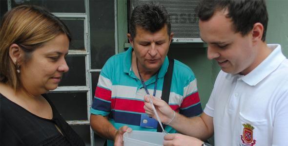 Controle da dengue realiza ações de combate ao mosquito Aedes Aegypti em Indaial