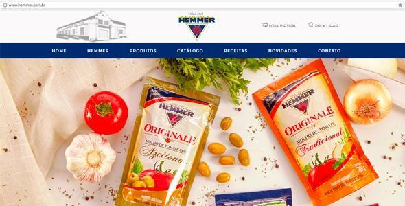 Novas plataformas digitais são apostas Hemmer Alimentos