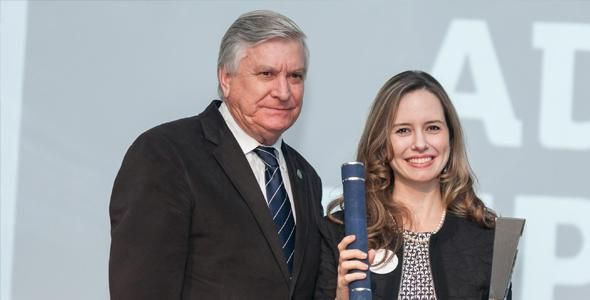 Martinelli é premiado como Top of Mind em SC
