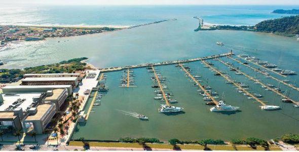 Projeto cria polo náutico de Santa Catarina